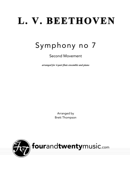 Allegretto - 2nd Movement from Symphony No. 7 in A Major (Op. 92)