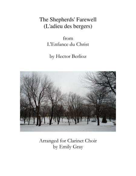 The Shepherds' Farewell, for Clarinet Choir