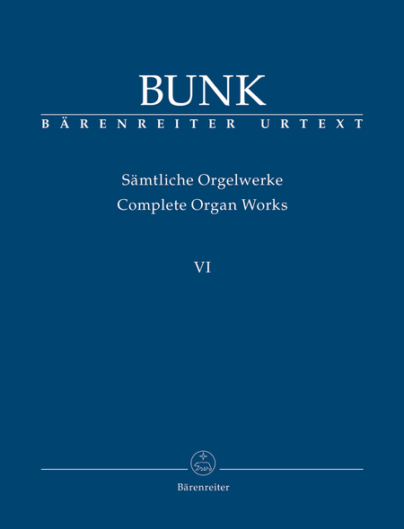 Complete Organ Works, Volume VI