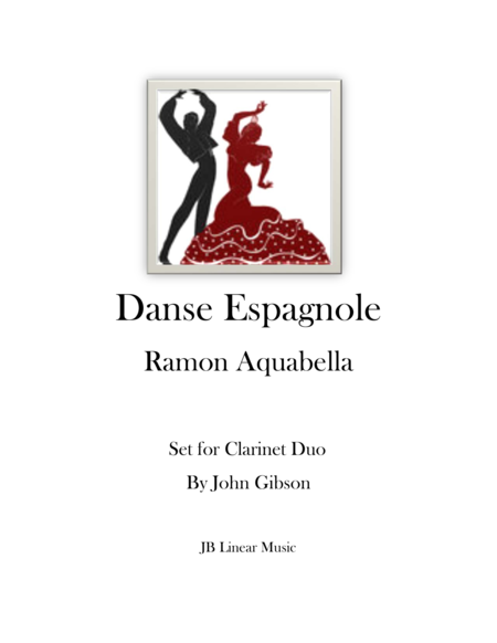 Danse Espagnole for Clarinet Duet