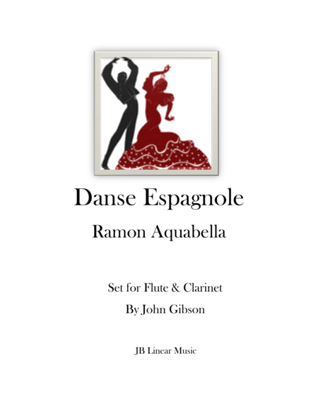 Danse Espagnole for Flute and Clarinet Duet