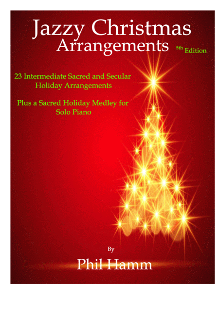 Jazzy Christmas Arrangements-3rd Edition