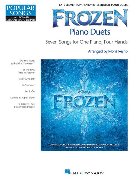 Frozen Piano Duets