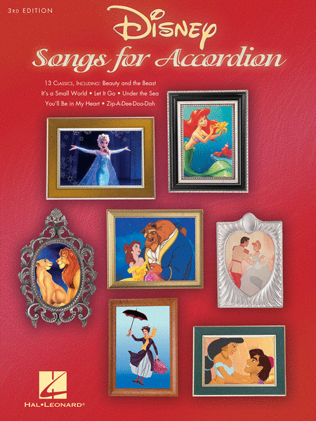 Disney Songs for Accordion - 3rd Edition