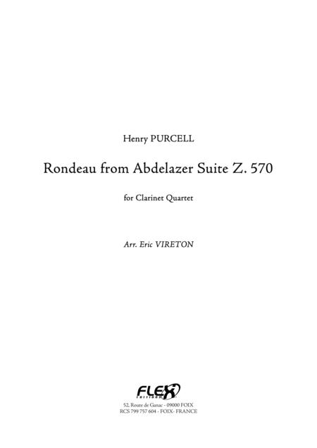 Rondeau from Abdlazer Suite Z. 570