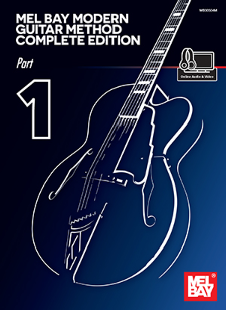 Modern Book Cover Guitar : Mel bay modern guitar method complete edition part