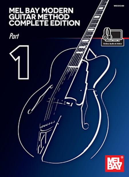 Modern Book Cover Guitar ~ Mel bay modern guitar method complete edition part