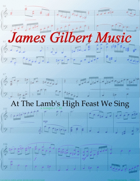 At The Lamb's High Feast We Sing
