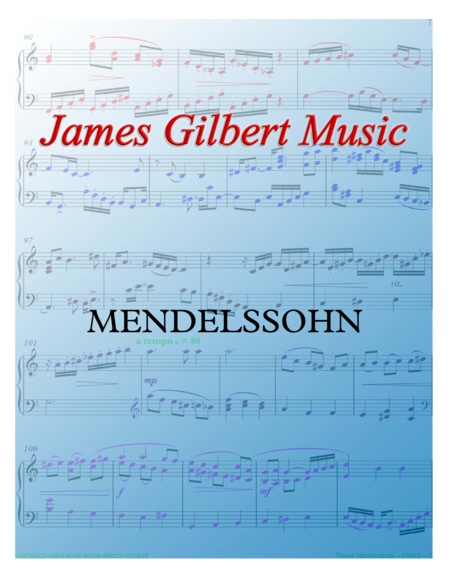 MENDELSSOHN (Hark, The Herald Angels Sing)
