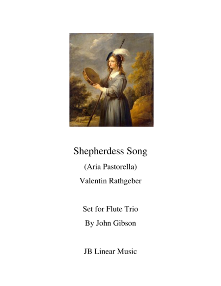 Shepherdess Song for Flute Trio
