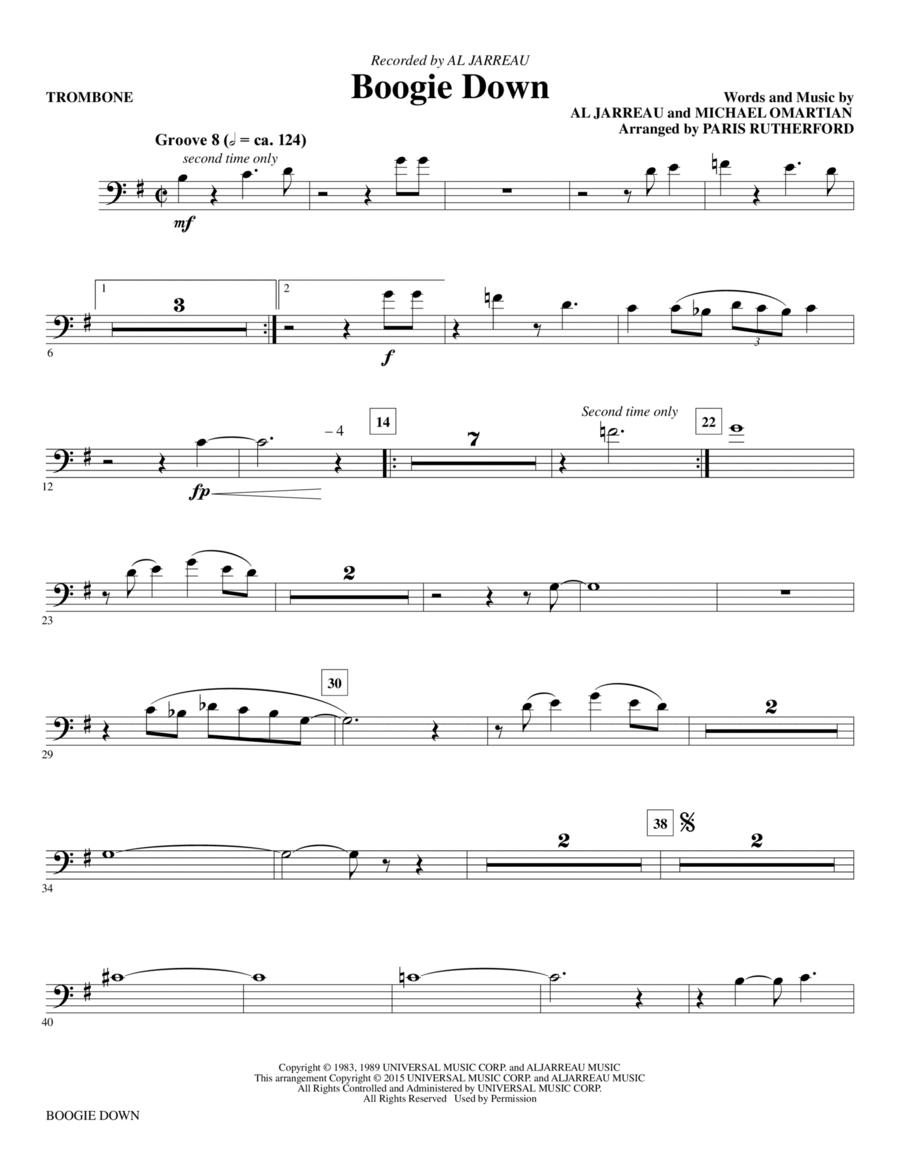 Boogie Down - Trombone