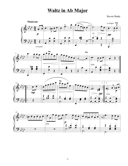 Waltz in Ab Major