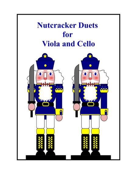 Nutcracker Duets for Viola and Cello