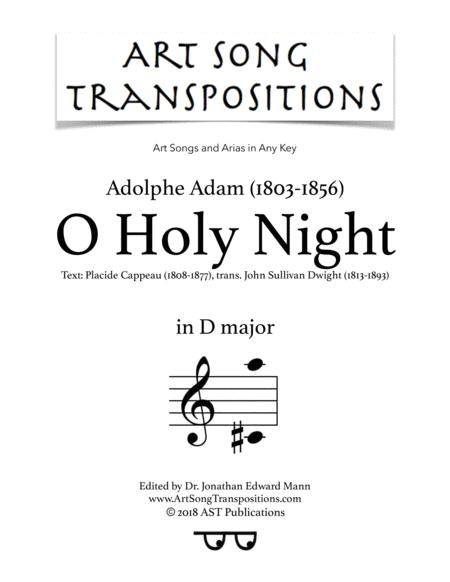 O Holy Night (D major)