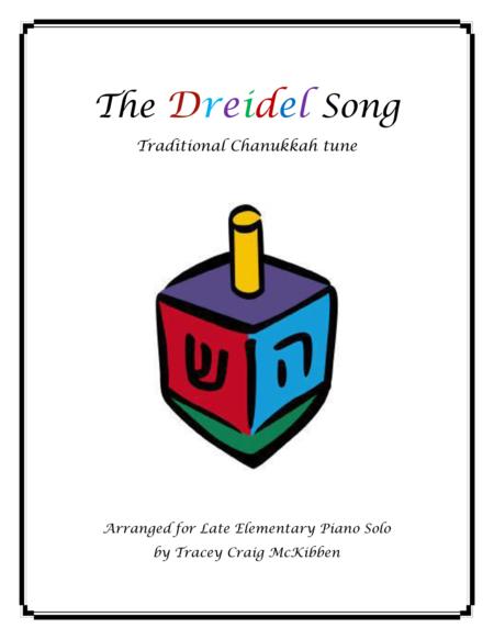The Dreidel Song (Piano Solo)