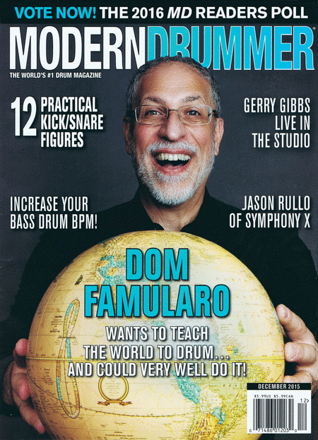 MODERN DRUMMER 2015 COMPLETE 12 MAGAZINE BACK ISSUE COLLECTION LOT JoJo Mayer