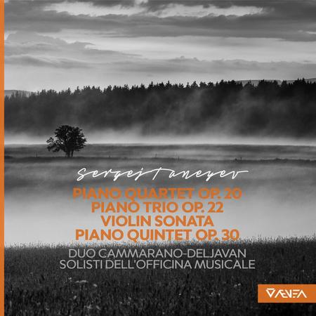 Taneyev: Piano Quartet, Op. 20 - Piano Trio, Op. 22 - Violin Sonata - Piano Quintet, Op. 30