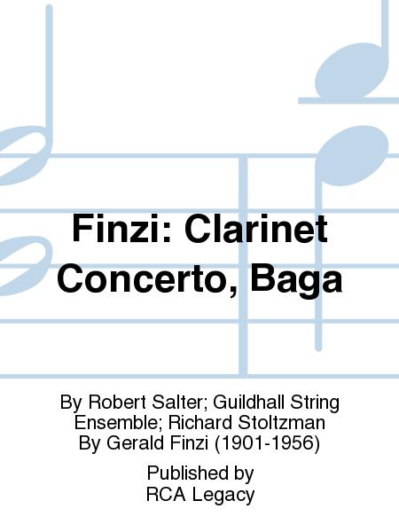Finzi: Clarinet Concerto, Baga
