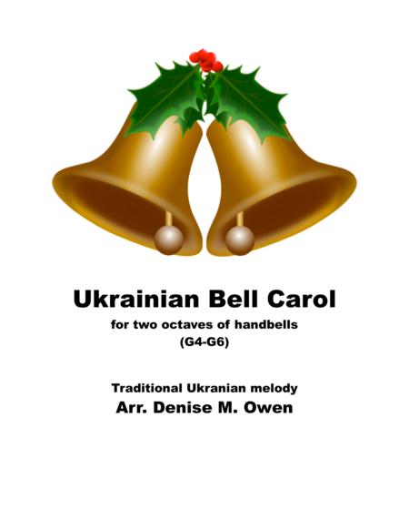 Ukranian Bell Carol for two octaves handbells (G4-G6)
