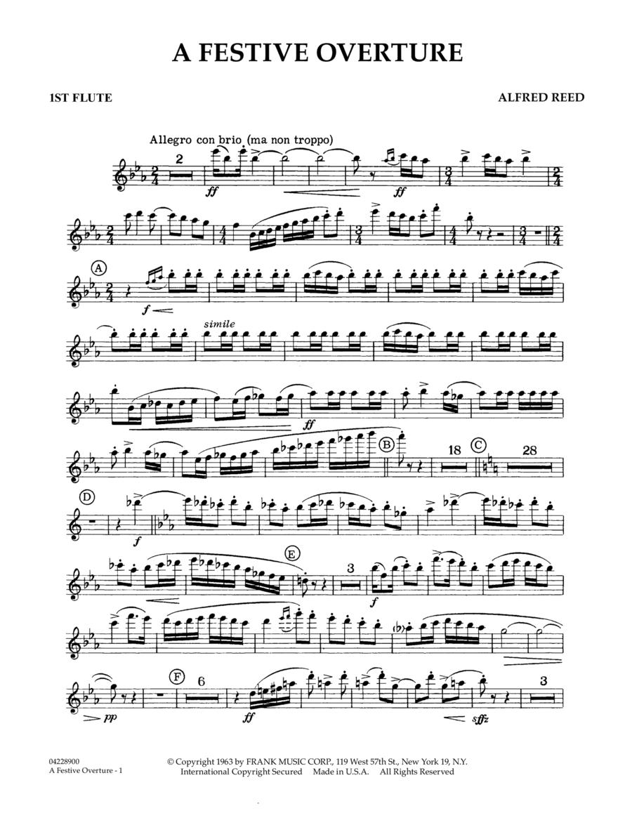 A Festive Overture - 1st Flute