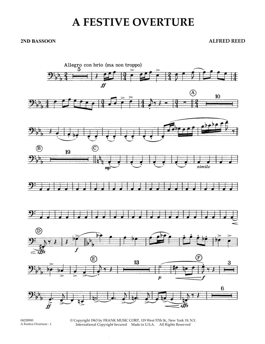 A Festive Overture - 2nd Bassoon
