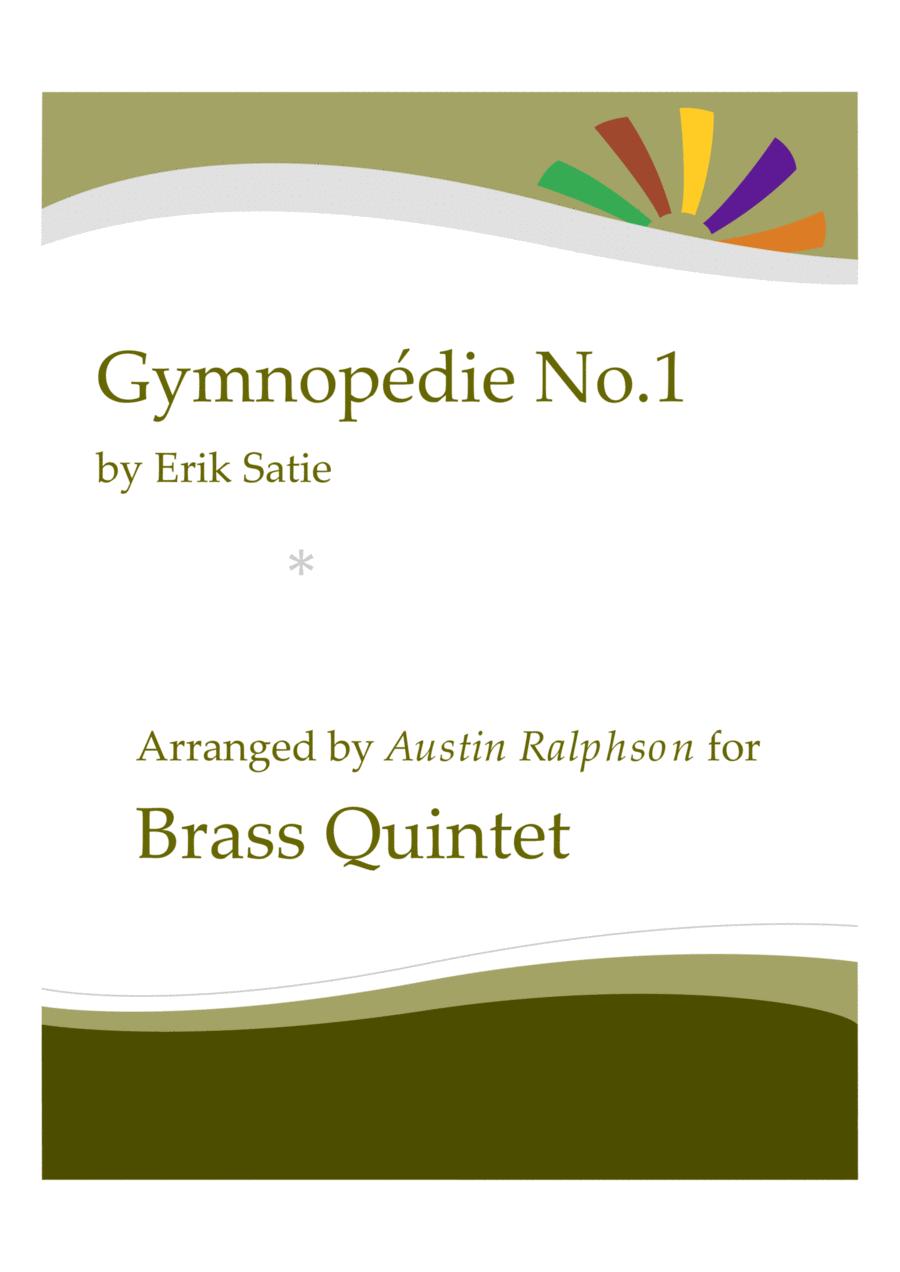 Gymnopedie No.1 - brass quintet