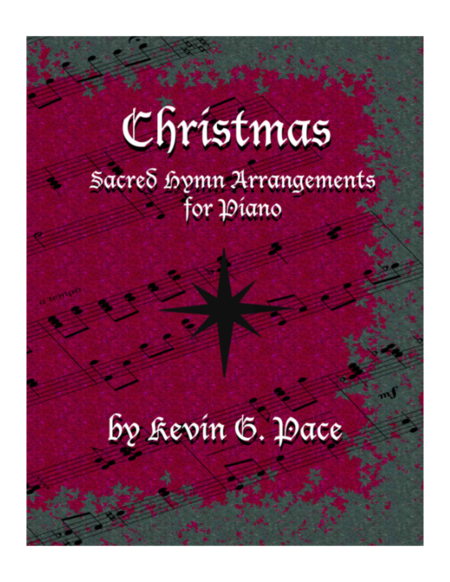 Sacred Hymn Arrangements for Piano - Christmas