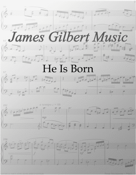 He Is Born (Il Est Ne)