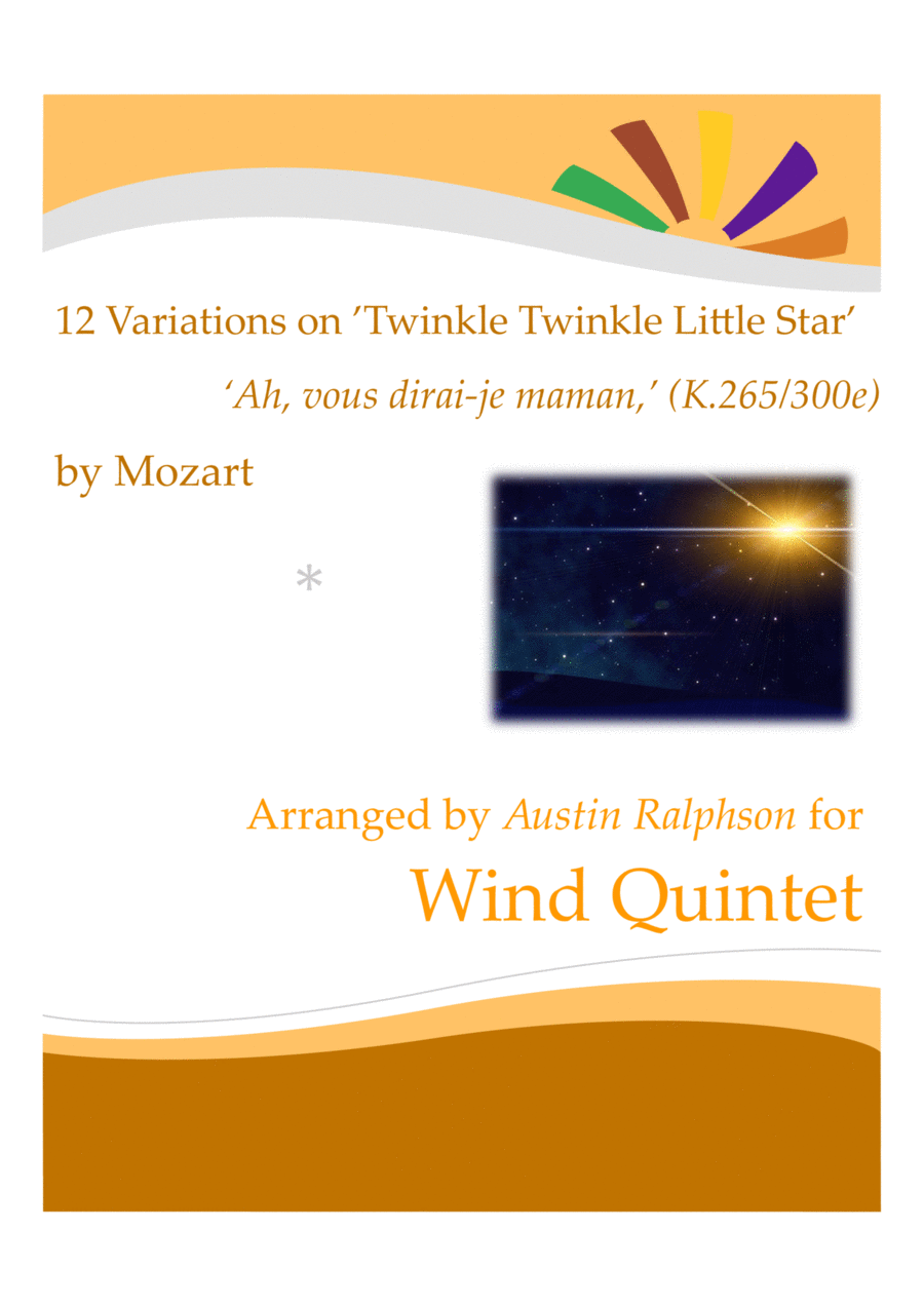 12 Variations on 'Twinkle Twinkle Little Star'