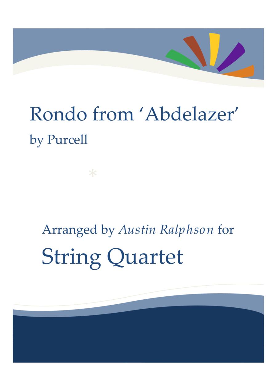 Rondo from The Abdelazer Suite - string quartet