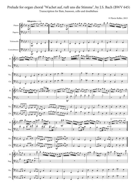 Organ chorale prelude