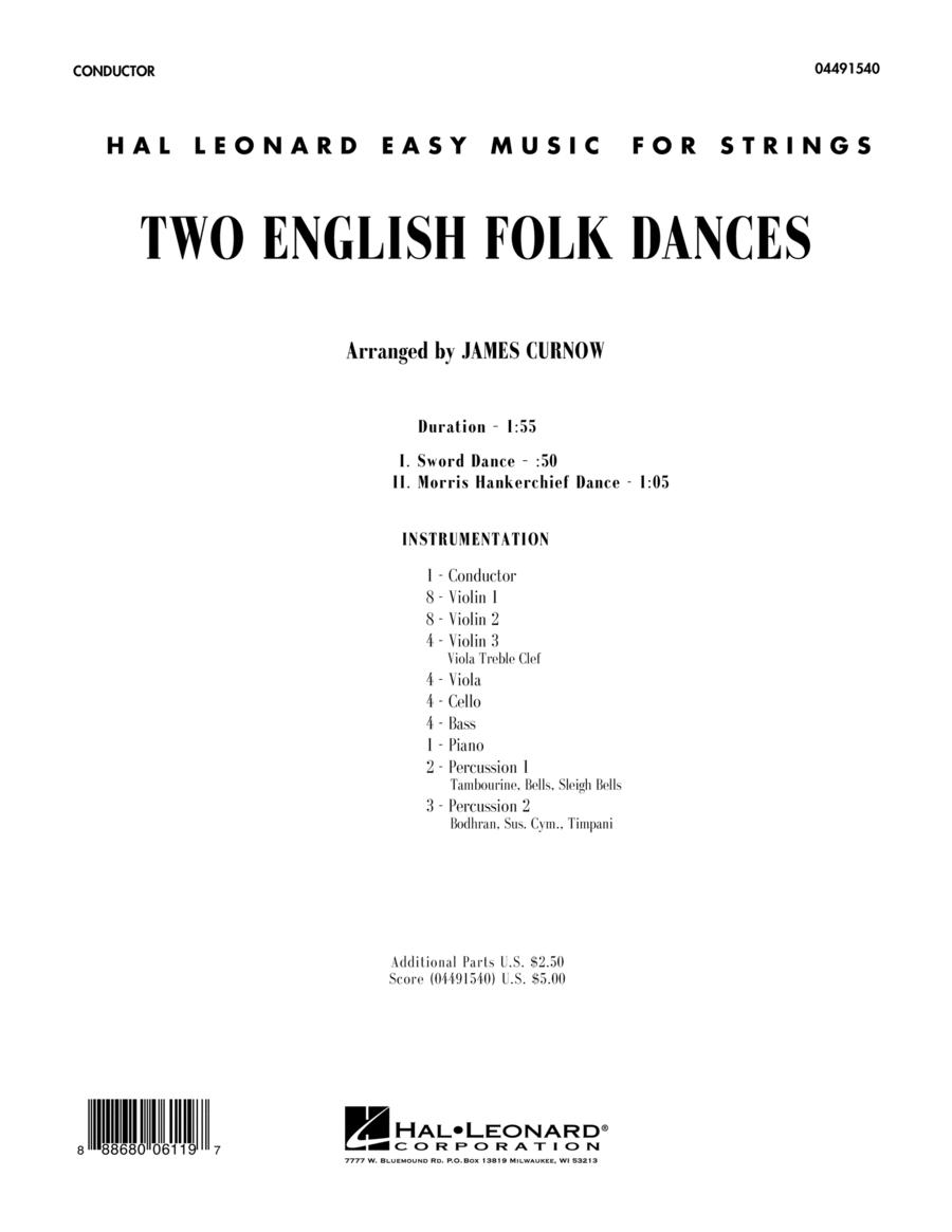 Two English Folk Dances - Conductor Score (Full Score)