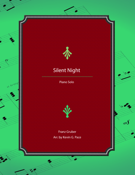 Silent Night - advanced piano solo