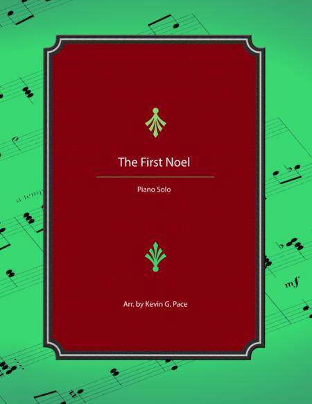 The First Noel - advanced piano solo