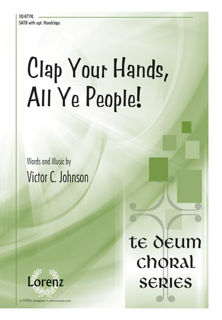 Clap Your Hands, All Ye People!