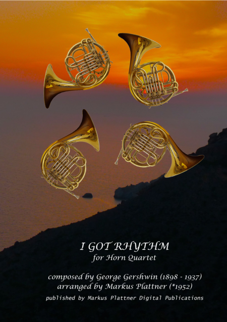 I Got Rhythm for French Horn Quartet