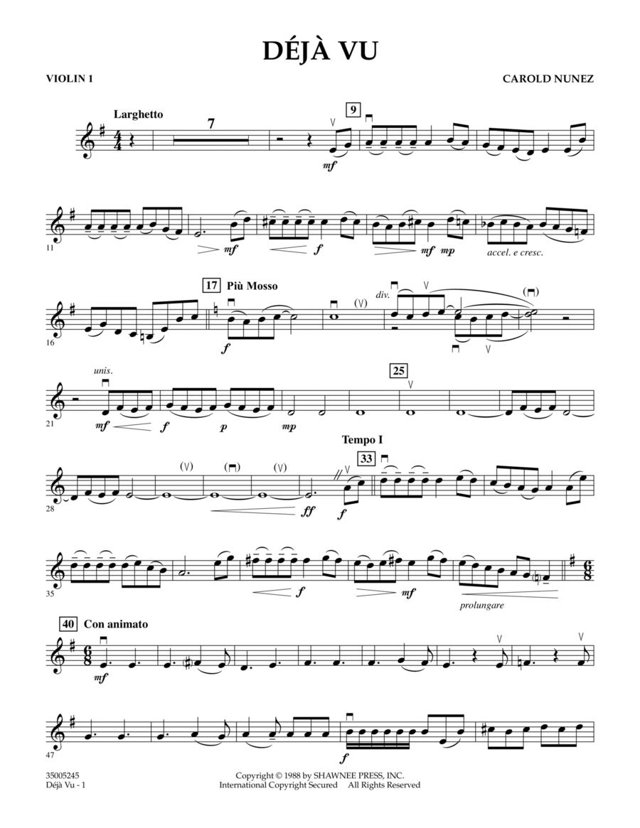 Deja Vu - Violin 1
