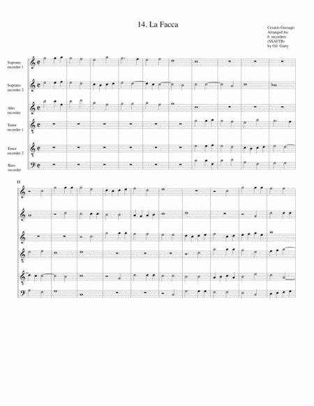 Sonata no.14 a6 (28 Sonate a quattro, sei et otto, con alcuni concerti (1608))