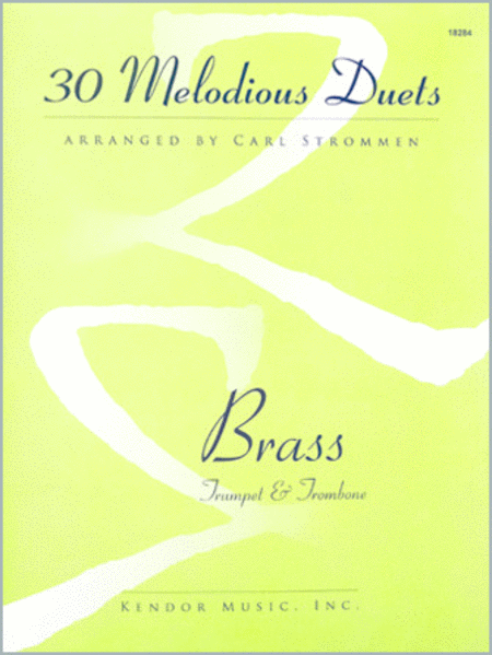30 Melodious Duets (Trumpet & Trombone)