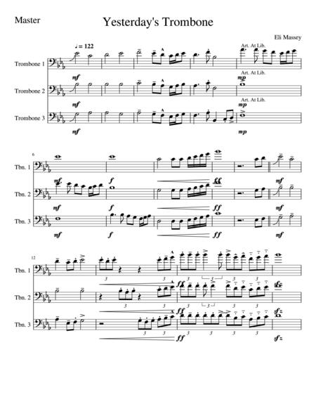 Yesterday's Trombone