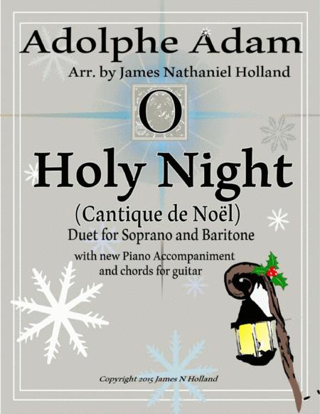 O Holy Night (Cantique de Noel) Adolphe Adam Duet for Baritone and Soprano (Tenor)