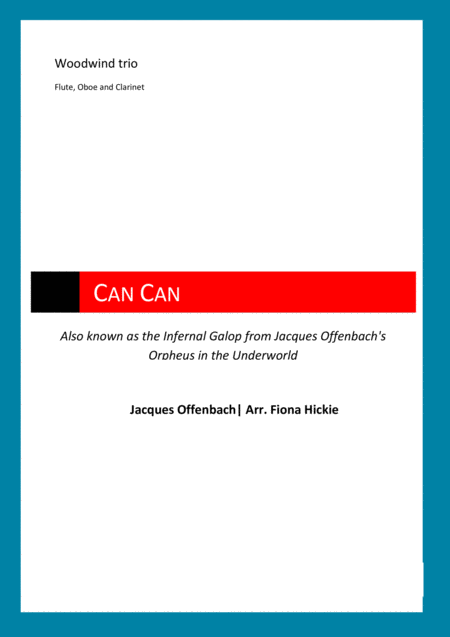 Can Can: Infernal Galop from Orpheus in the Underworld