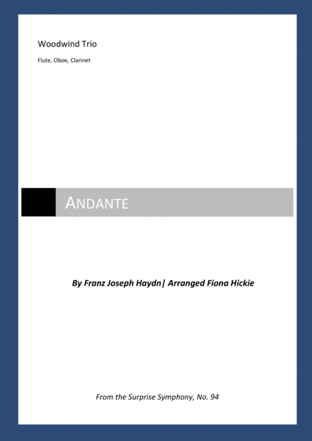 Andante: From the Surprise Symphony