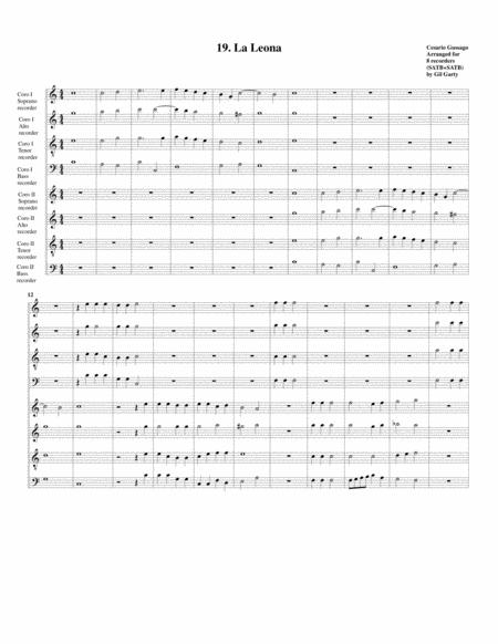 Sonata no.19 a8 (28 Sonate a quattro, sei et otto, con alcuni concerti (1608))