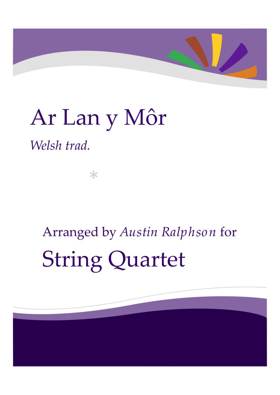 Ar Lan y Mor (By The Sea) - string quartet