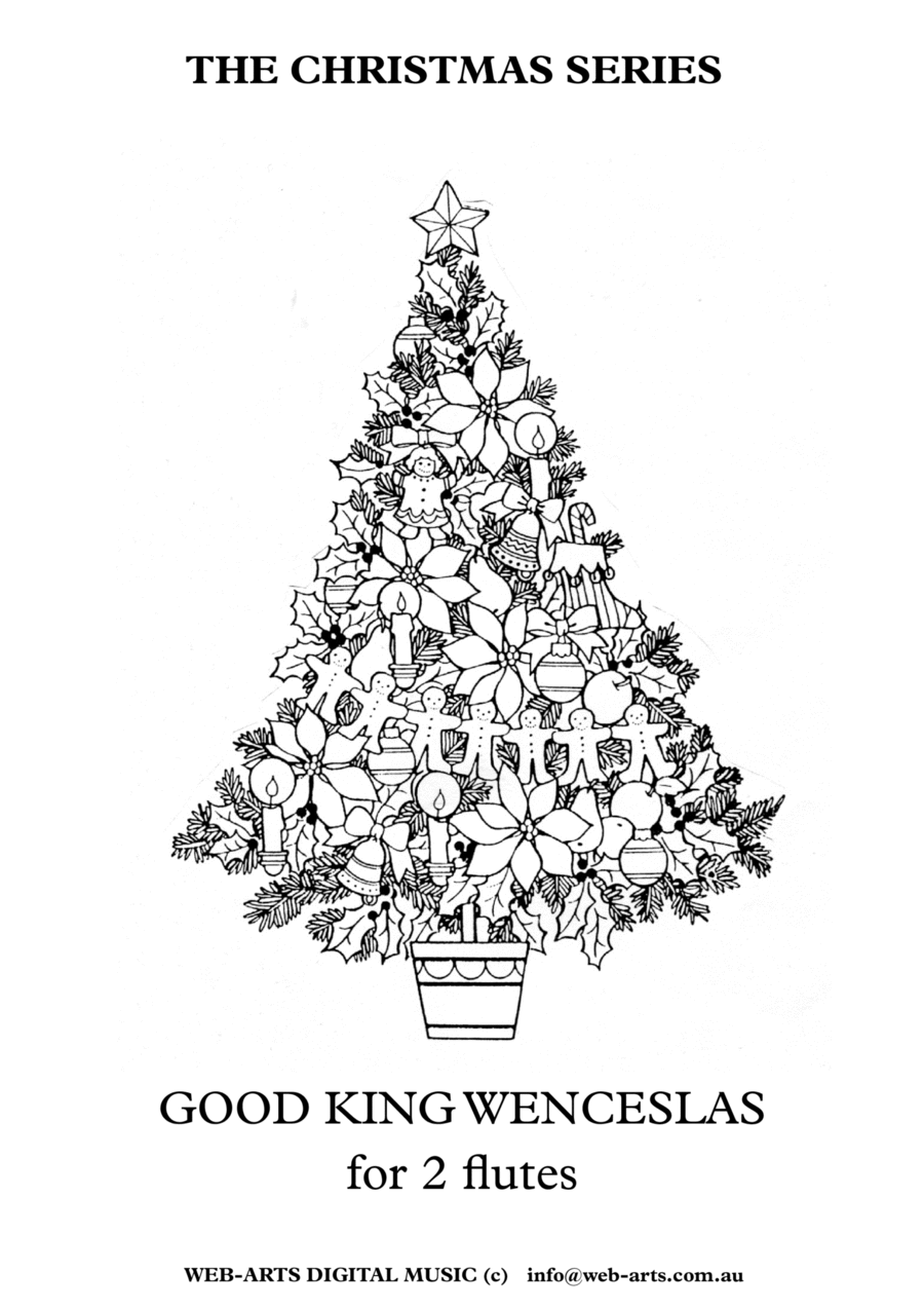GOOD KING WENCESLAS for 2 Flutes