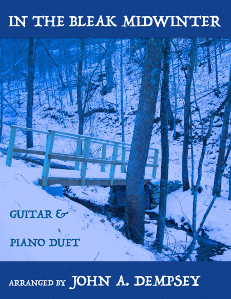 In the Bleak Midwinter (Guitar and Piano Duet)