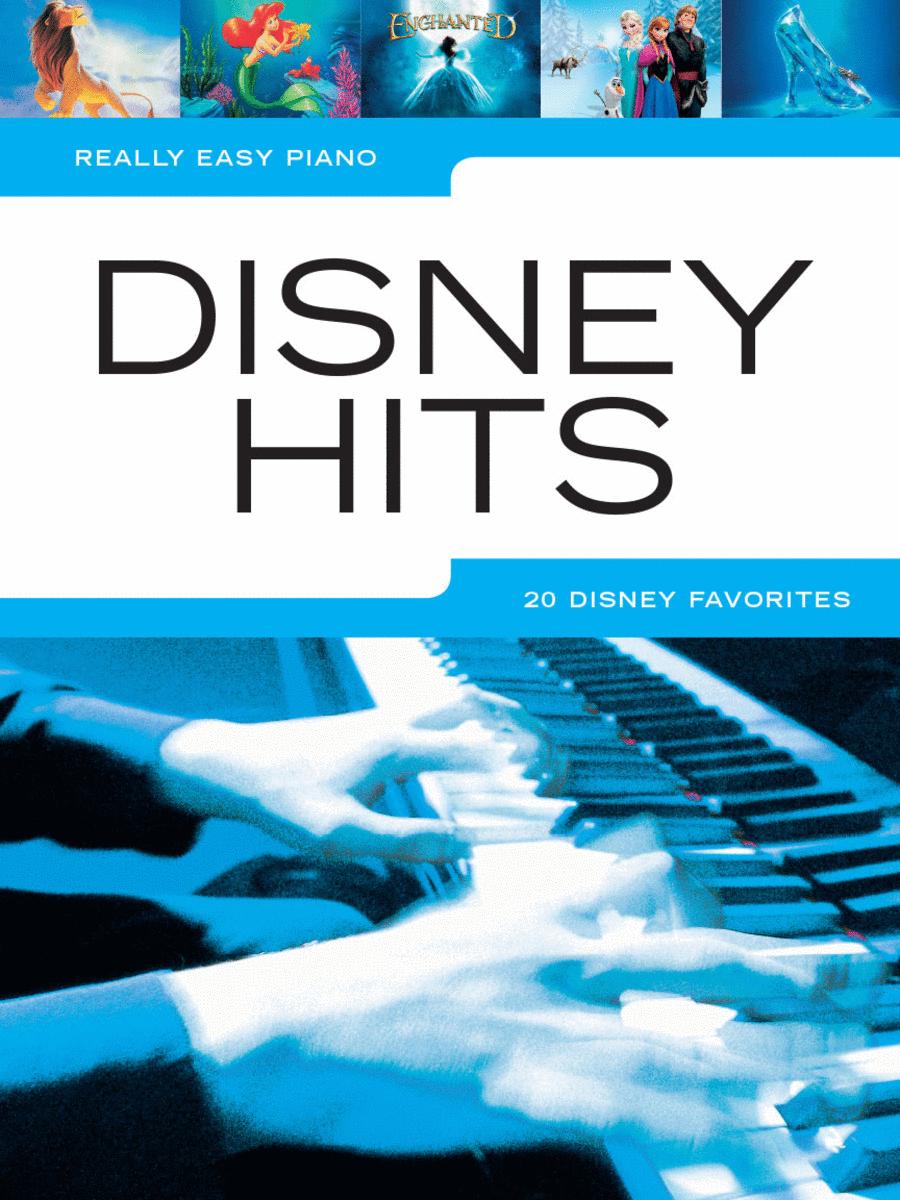 Disney Hits Sheet Music By Various