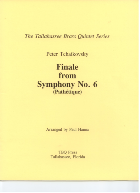 Finale from Symphony No. 6 (Pathétique)
