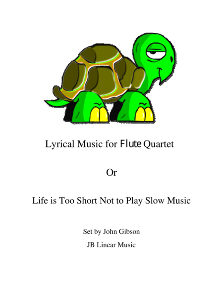 Lyrical Music for Flute Quartet